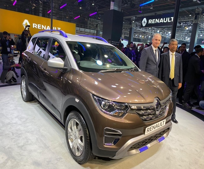 Auto Expo 2020: Renault unveils TRIBER EASY-R AMT, KZE-2 and Zoe | In Pics