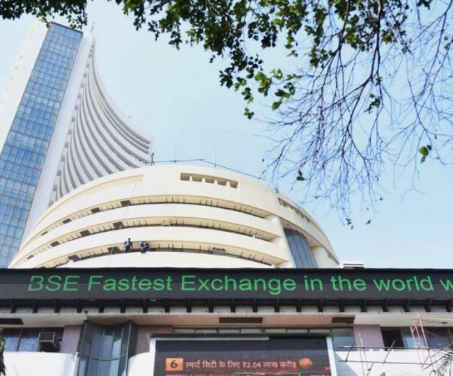 Sensex zooms over 800 points, Nifty reclaims 11,900-mark