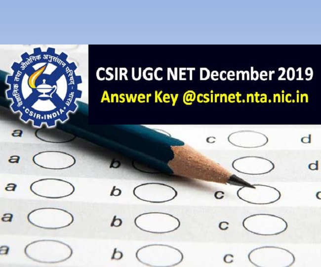 NTA releases CSIR NET Answer Key 2019, here's how to check