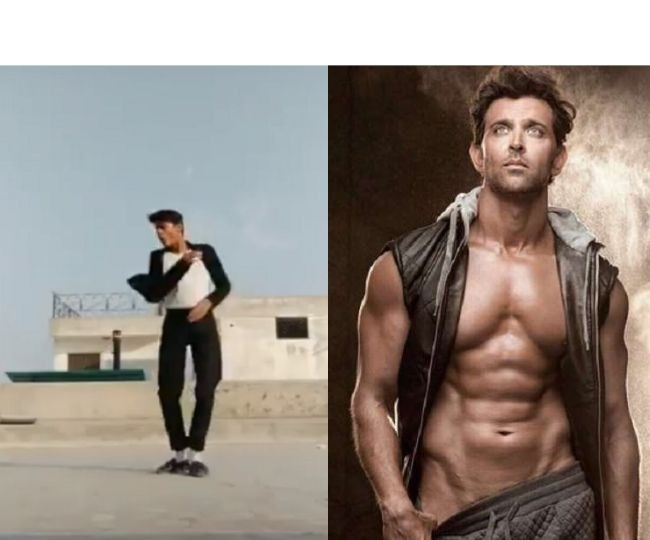 'Who is this man'?: Tik Tok dancer stuns Hrithik Roshan with his 'smooth airwalking' skills | Watch
