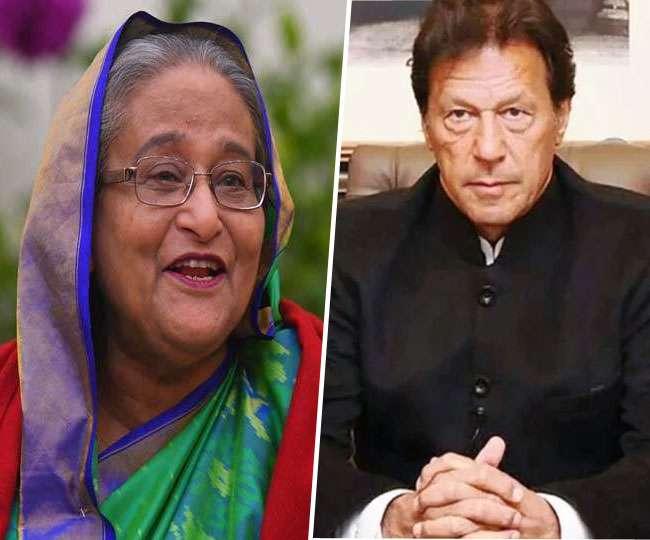 Imran Khan, Sheikh Hasina discussed Kashmir and Ladakh standoff? Report raises eyebrows in India
