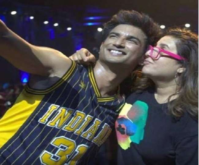 'Sometimes we can't let go of memories': Farah Khan shares behind-the-scene video of Sushant Singh Rajput's Dil Bechara   Watch