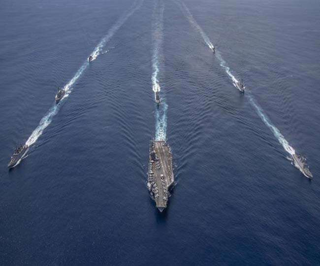 US Holds Naval Exercises With Allies in Asia Amid China Tension
