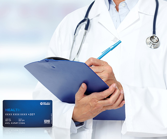 How to use the Digital Health EMI Network Card to pay bills not covered by insurance