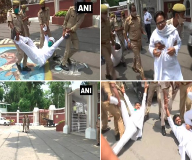 Rajasthan Political Crisis: Congress protests outside Governor's house across states; party's Delhi, UP chiefs detained