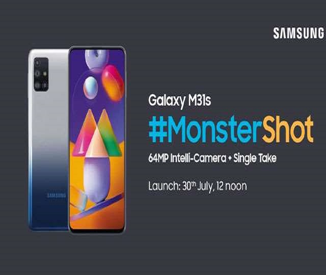 Samsung Galaxy M31s Appears On Amazon Listing; Launching On July 30