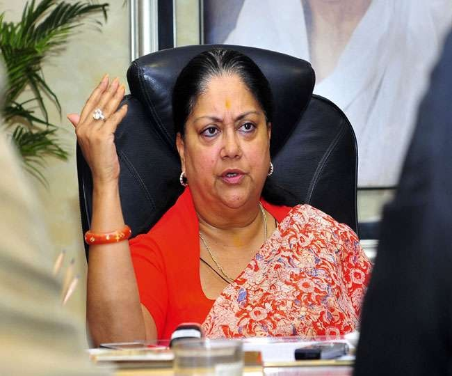Discord within Congress, don't throw mud at BJP: Vasundhara Raje on Rajasthan crisis