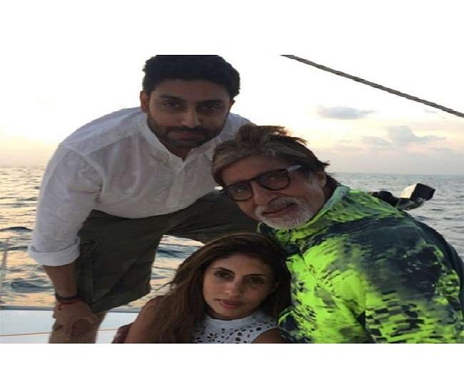 'Kaise itne badhe hogye': Nostalgic Big B shares adorable childhood pictures of Abhishek and Shweta Bachchan