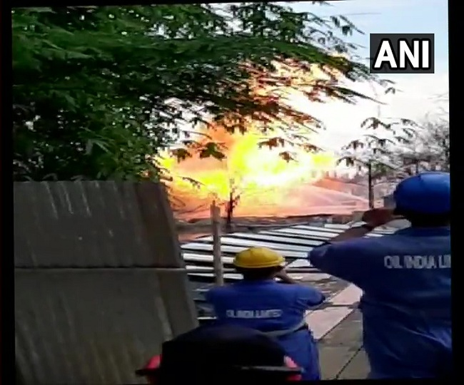 Assam: Explosion at well number 5 of Oil India in Baghjan, three foreign experts injured