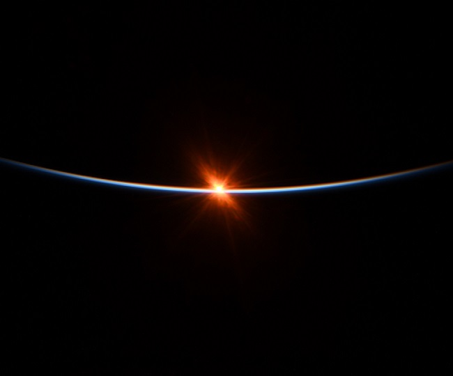 These stunning pics of sunrise, captured from space, will leave you amazed