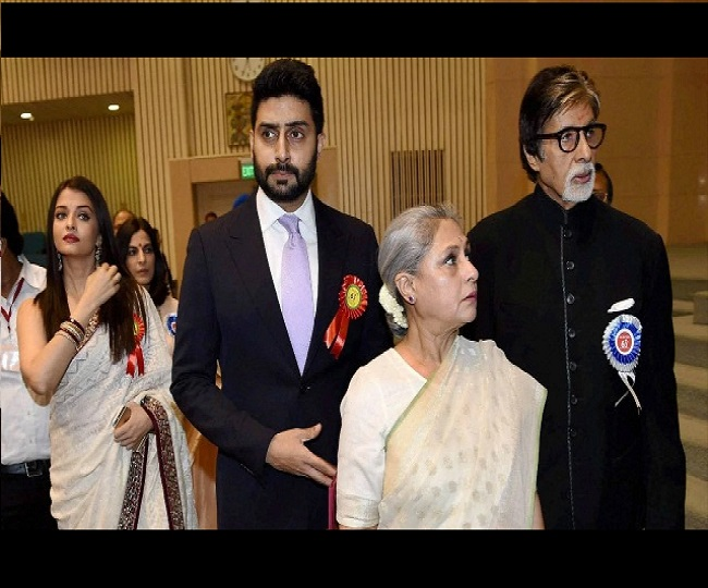 Aishwarya Rai, Aaradhya and Jaya Bachchan test COVID-19 negative in antigen test, swab test reports to come today