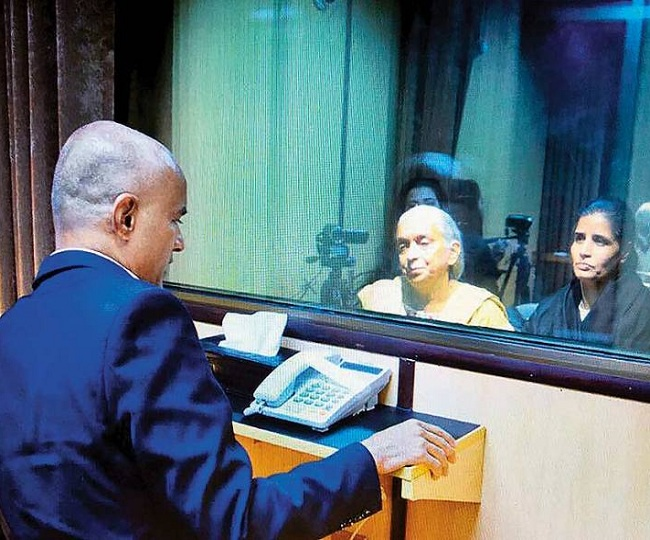 Kulbhushan Jadhav Case: New Delhi granted second consular access, Indian officials at Pak foreign office