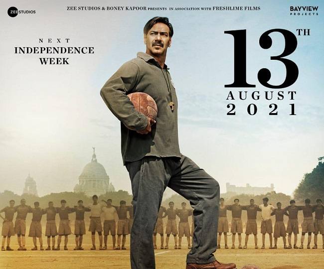 Ajay Devgn-starrer Maidaan to release on this date in August 2021