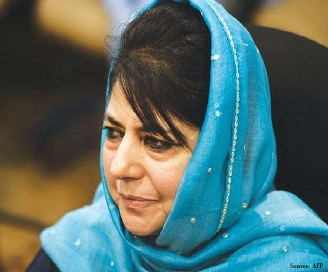 Mehbooba Mufti's detention extended by 3 months under PSA by J-K administration