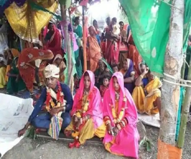Madhya Pradesh man ties knot with girlfriend and woman chosen by parents in same mandap, same time