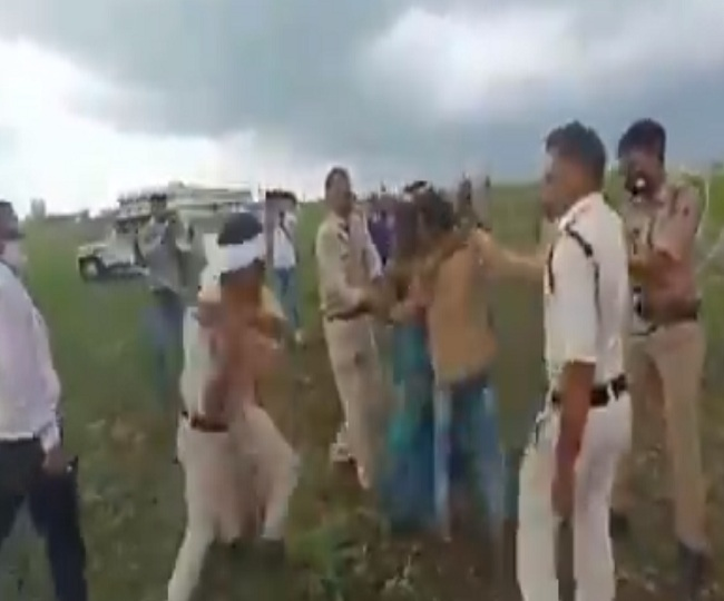 Farmer couple consumes pesticide in MP's Guna after authorities allegedly seize land, bulldoze their crops