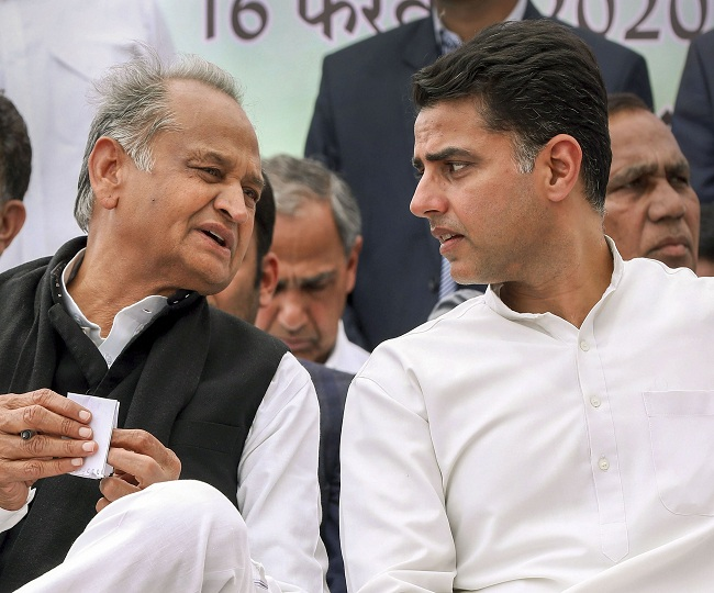 Rajasthan Crisis: 'Protest to continue until Guv replies,' says CM Gehlot; BJP urges Centre to deploy CRPF at Raj Bhavan | Highlights