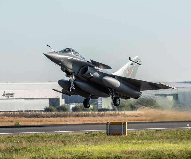 5 Rafale jets enter Indian airspace, set to land in Ambala shortly, to join 'Golden Arrows' squadron