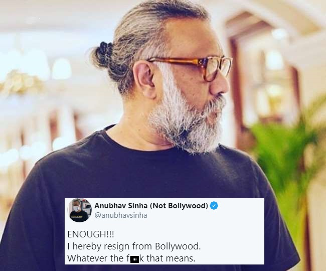 Thappad director Anubhav Sinha 'resigns' from Bollywood; sends Twitter in a frenzy