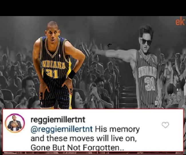 'Gone but not forgotten': NBA legend Reggie Miller reacts to Sushant Singh Rajput's Dil Bechara moves inspired by his game
