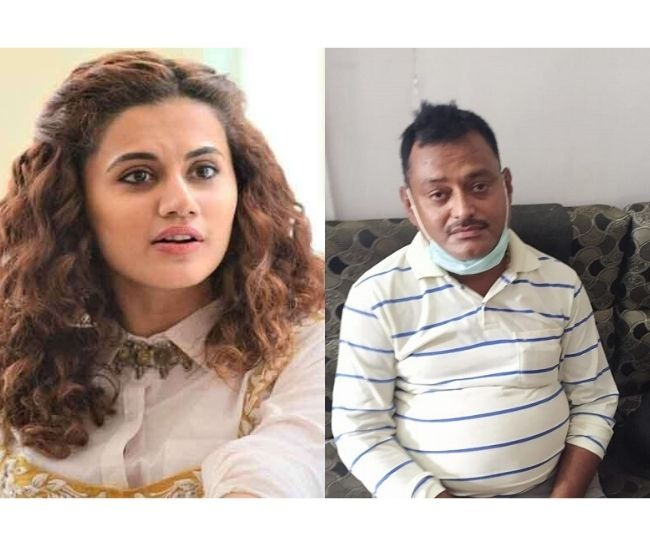 'And then they say Bollywood stories are far from reality': Taapsee Pannu on gangster Vikas Dubey's encounter