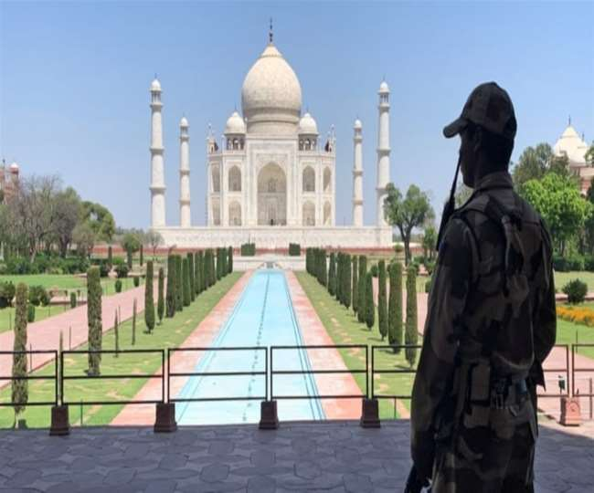 Taj Mahal, other Agra monuments to not reopen from today as city sees surge in COVID-19 cases