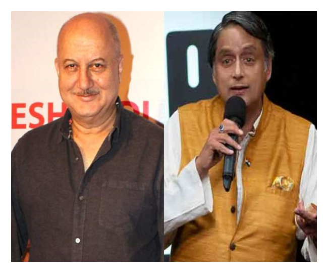 Anupam Kher's old tweet on patriotism triggers war of words with Congress MP Shashi Tharoor