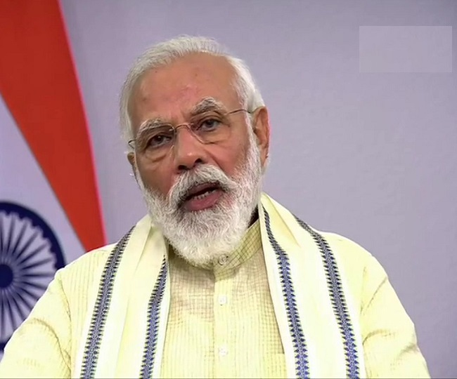 In address to nation, PM Modi announces extension of free food grain scheme till November