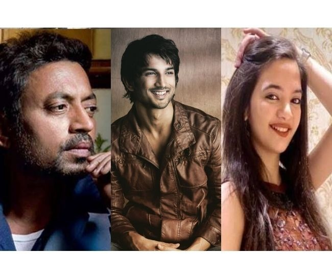 From Sushant Singh Rajput to Irrfan Khan to Rishi Kapoor: 2020 leaves India's showbiz industry reeling from deaths