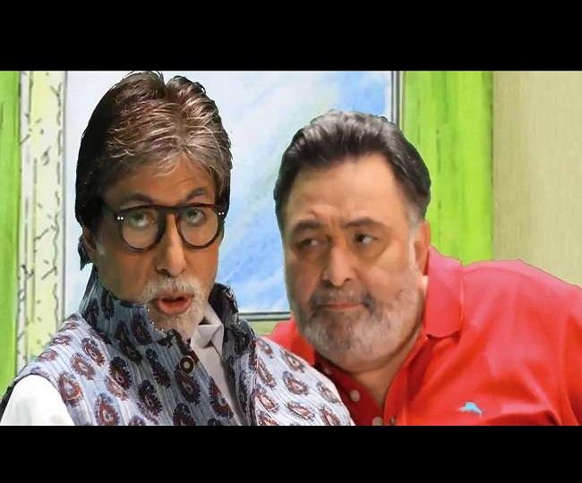 'Simply Unbeatable': Amitabh Bachchan remembers late Rishi Kapoor with Insta post praising his lip-sync skills