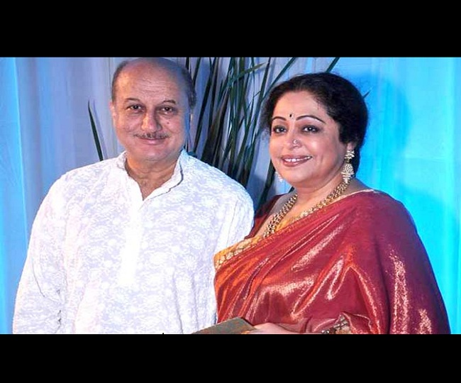 'Sorry you are on your own': Anupam Kher wishes wife Kirron on her b'day with adorable post on Instagram
