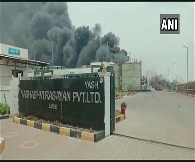 Five dead, 57 injured after fire breaks out in chemical factory in Gujarat's Bharuch district