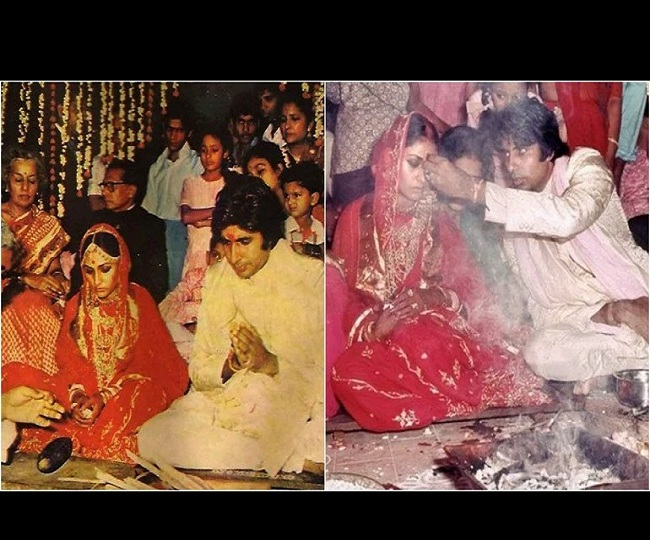 Amitabh Bachchan, Jaya Bachchan celebrate 47th wedding anniversary