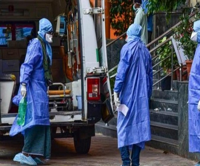 9,971 new infections, highest single-day spike, take India's COVID-19 tally past 2.46 lakh-mark; death toll nears 7,000