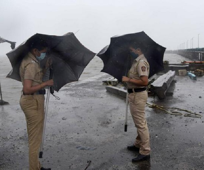 Cyclone Nisarga NDRF personnel on alert in parts of Maharashtra