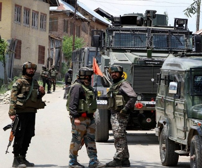 Two terrorists killed in encounter by security forces in Kashmir's Kulgam; arms and ammunition recovered