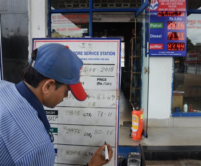 Fuel Prices: 19 hikes in a row take diesel past Rs 80-mark in Delhi, petrol at Rs 79.92 per litre