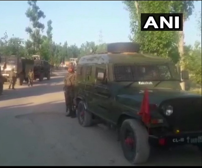J-K: Three terrorists killed in encounter by security forces in Shopian; arms and ammunition recovered