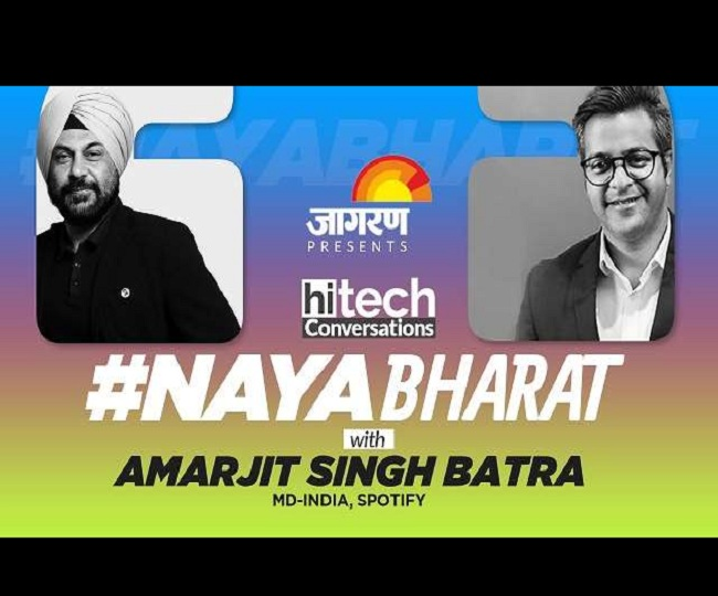 #NayaBharat | 'Content Podcast will bring big changes in India's audio streaming industry': Amarjit Singh Batra
