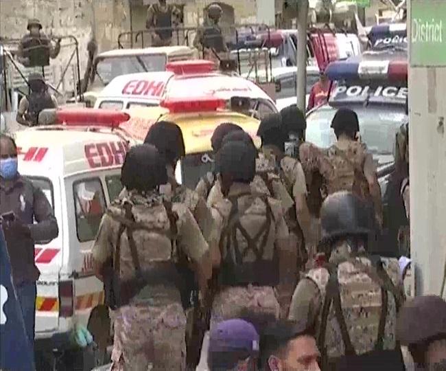 Pakistan Terror Attack: 5 civilians killed, 4 terrorists gunned down in attack at Karachi Stock Exchange building
