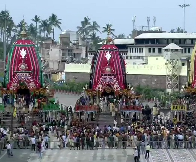 In a first, seven-day Puri Rath Yatra starts with no public attendance after Suprme Court order