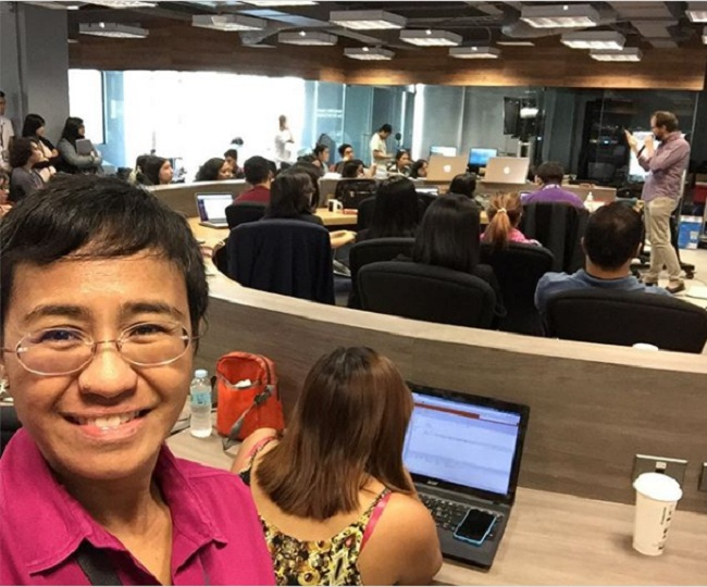 'Menacing blow': Fact-checkers support Maria Ressa, Santos Jr. and Rappler after Filipino court's verdict against them