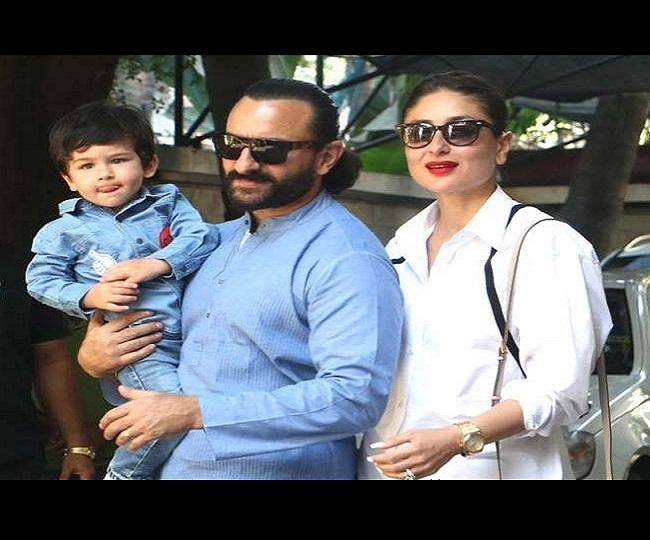 Netizens Troll Kareena, Saif For Taking Taimur To Marine Drive Without Mask
