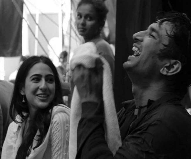 Sara Ali Khan remembers Sushant Singh Rajput with a throwback picture from sets of Kedarnath   Check post here