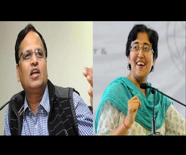 Delhi Health Minister Satyendar Jain, AAP MLA Atishi Marlena test positive for coronavirus