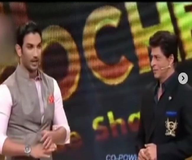 'Iss ilake ka gunda hu mai': When Sushant Singh Rajput imitated Shah Rukh Khan and got a warm hug in return | Watch