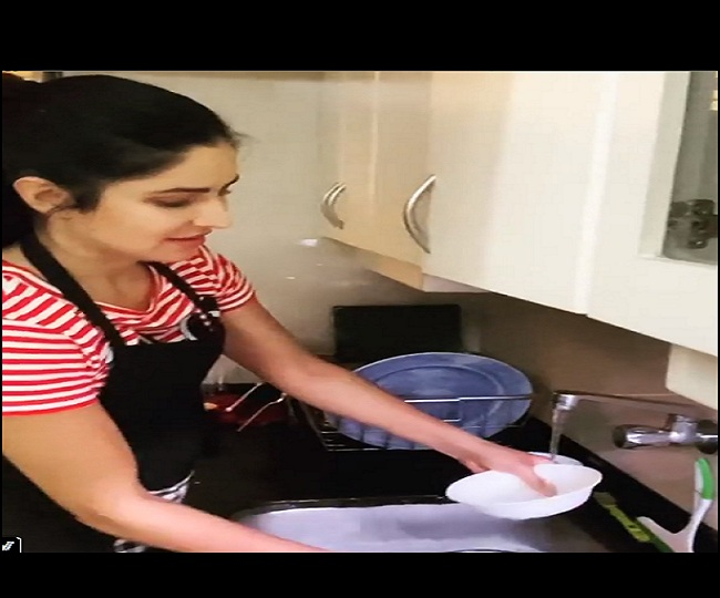 'Little professional tutorial': In times of social distancing, Katrina 'dishes out' tips on household chores