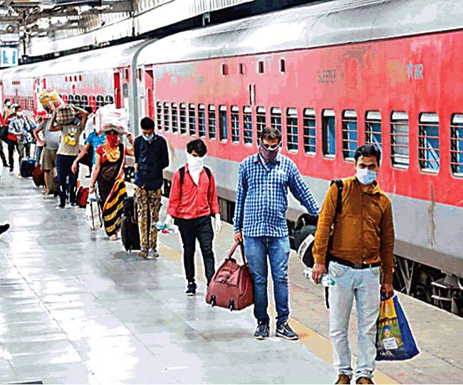 Centre paying 85% expenses of Shramik Special Trains, states only giving 15% fares: Railways