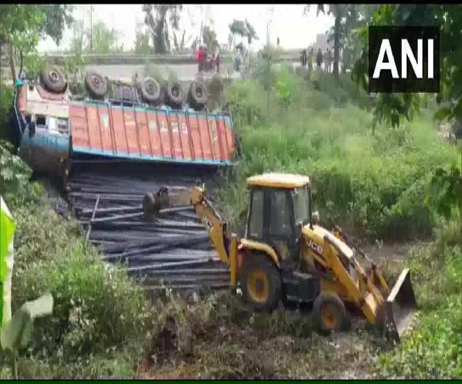 Nine migrants dead after truck-bus collision in Bihar's Bhagalpur