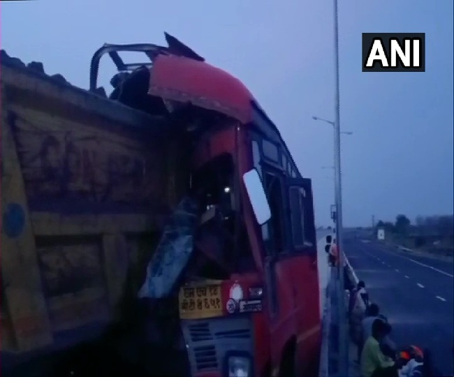 Seven migrant workers killed in two separate accidents in UP and Maharashtra, over 32 injured